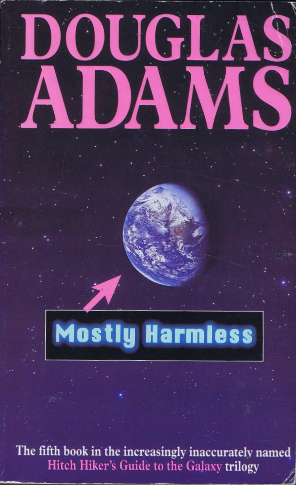 Mostly harmless av Douglas Adams (Häftad) - Fantasyhyllan