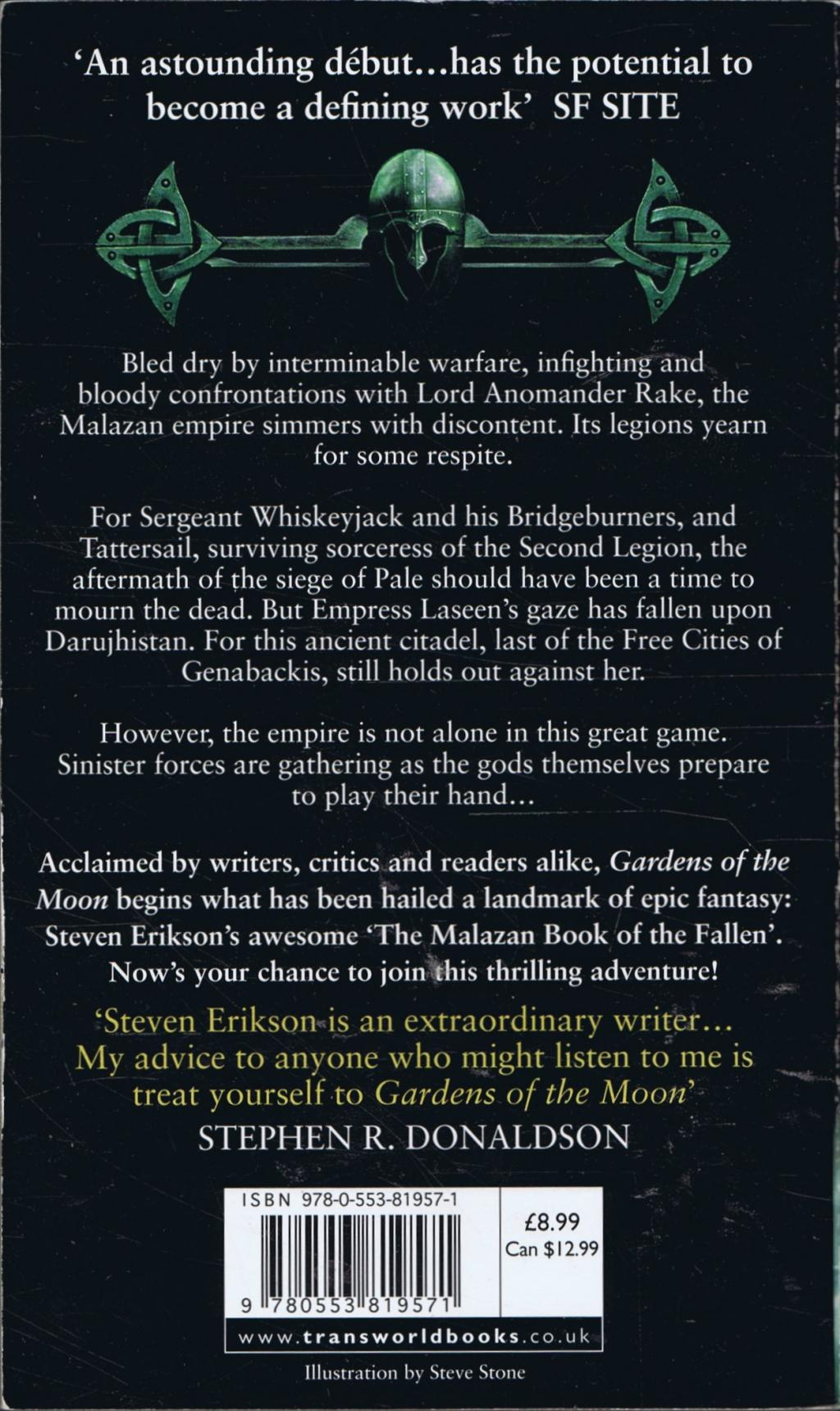 malazan book of the fallen gardens of the moon review