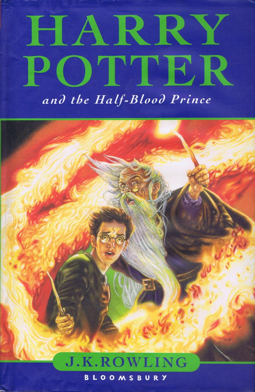 a review of harry potter and the half blood prince by jk rowling This harry potter and the half-blood prince book review was written by amanda white all reviews for: harry potter potter and the half-blood prince by jk rowling.