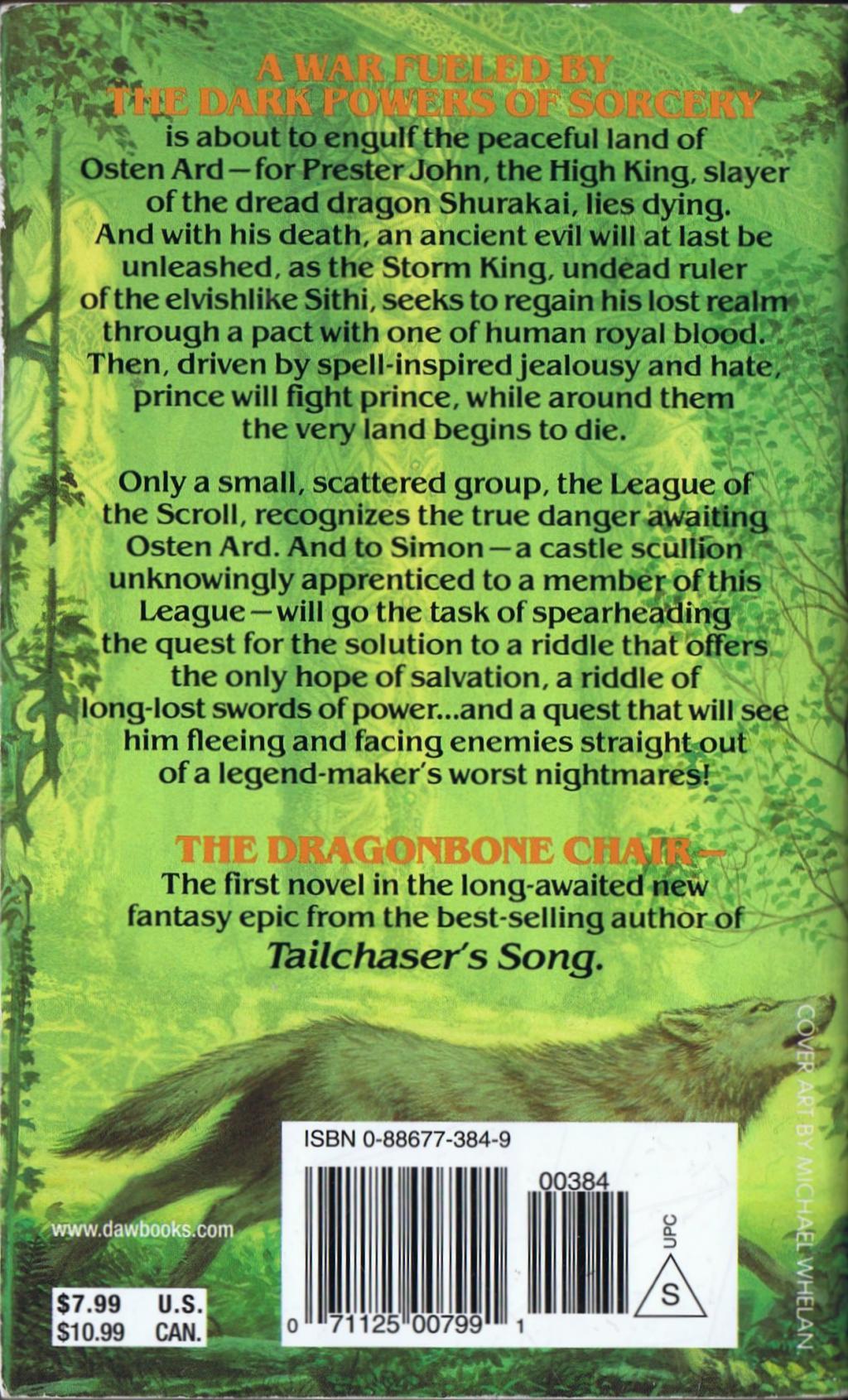 Dragonbone Chair av Tad Williams Häftad paperback