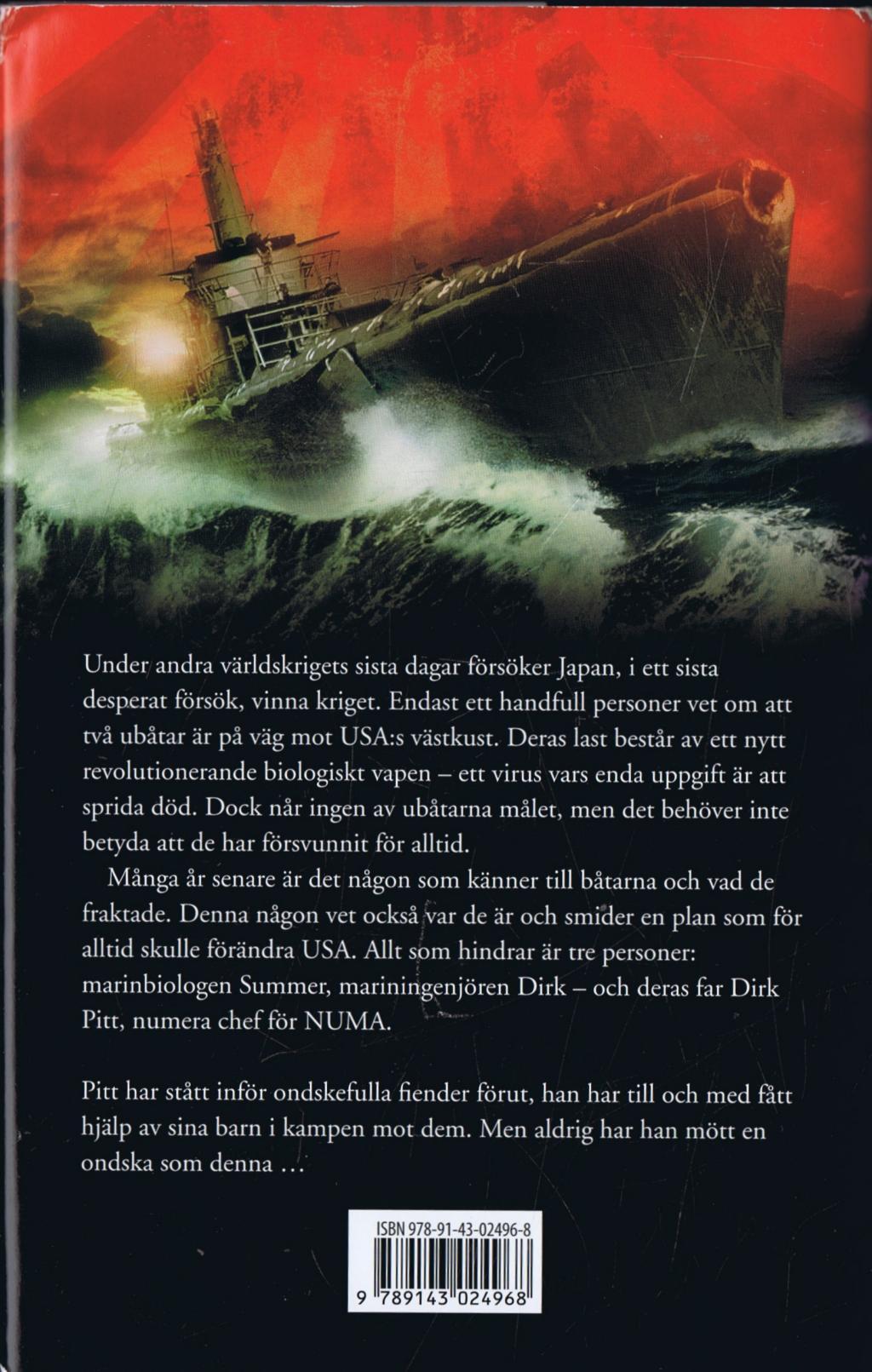Dirk Pitt: Black Wind by Dirk Cussler and Clive Cussler (2004, CD, Unabridged)