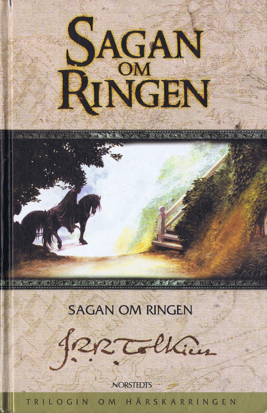 sagan om ringen tecknad
